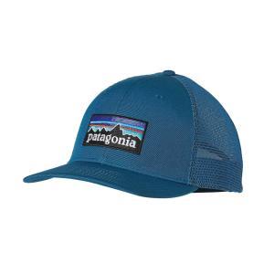 Patagonia P-6 Trucker Hat (Underwater Blue)